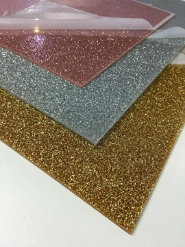 Affordable Glitter Acrylic Sheets