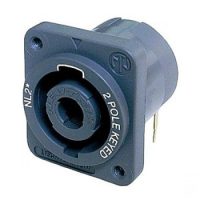 2 pole chassis connector