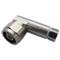 Commscope Type N Male Right Angle for 1/4 in FSJ1-50A cable