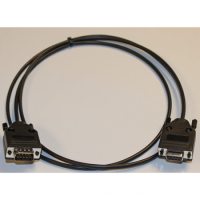 D PLUG TO D SOCKET 9 WAY CABLE ASSEMBLY 1.0 METRE