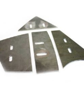 Baron M200 mixer replacement paddle (Blade) set of 4 (6mm)