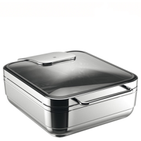 WMF Hot & Fresh Basic Chafing Dish 2/3 GN Stainless Steel (Each)
