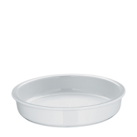 WMF Hot & Fresh Porcelain Insert for Round Chafing Dish 335mm (dia) x 70mm (h) White (Each)