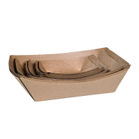 Ecocraft Food Tray 100ml Brown (1 x 1000)