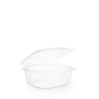 Hinged Lid PLA Deli Container 68.2cl Clear (1 x 200)