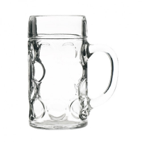 Artis Large Beer Stein Lined @ 2Pts CE Clear (1 x 6)