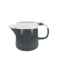 Kitchen Craft La Cafetiere Barcelona Teapot 2 Cup Cool Grey (Each)