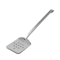 """Stainless Steel Egg/Fish Slice 15.5"""" Silver (Each)"""