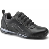 Toffeln  Safety Trainer Size 5 Black (1 x Pair)