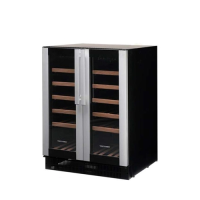 Vestfrost Undercounter Wine Cooler W38 119Ltrs (38 bottles) Silver and Black (Each)
