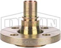 Smooth Tail Swivel Flanged Hose Spigot x Tail
