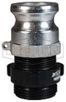 Cam & Groove Type F x Male NST (NH) Swivel Adapter