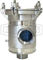 BISO Strainers- Bottom Inlet, Side Outlet