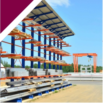 Robust Cladded Cantilever Racking