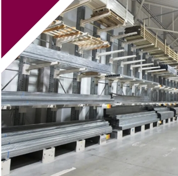 Heavy Duty Cantilever Systems