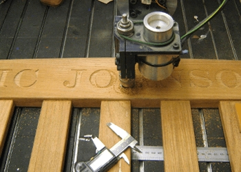 Rail Components Engraving Services