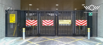 LPS1175 Security Rated Automatic Bi-folding Gate