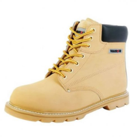 'Warrior' Sand Nubuck Safety Ankle Boot
