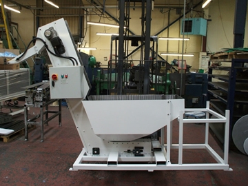 Belt Elevator Feeders For Automatic Machines