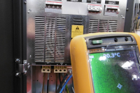 Thermal Imaging For UPS Projects