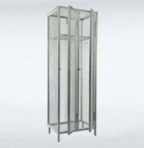 Industrial Wire Mesh Lockers For Uniforms