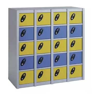 20 Compartment Minibox Personal Effects Lockers For Spa Centres