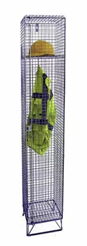 Wire Mesh Lockers For Uniforms