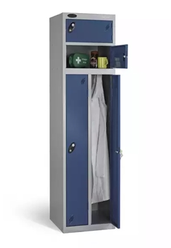 Twin Lockers For Leisure Centres