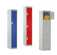 Eight Link51 Lockers For Uniforms