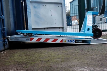 Pallet Truck Ramp Container Ramp 1000mm Wide x 1000kg Capacity