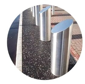 High Quality Stainless Steel Bollards