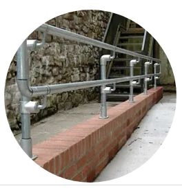 DDA Handrails For Stairs