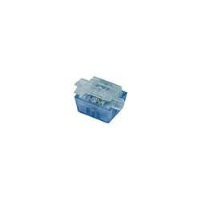 2-Wire Bridge Tap IDC Connector, 19-26 AWG, PolyPropylene Shell