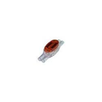 4-Wire Inline Drop Wire IDC Connector, 19-24 AWG, Polycarbonate Shell