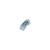 4-Wire Quick Snap Reusable Splice IDC Connectors, 21-26 AWG, Blue Grease