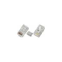 6-PLG-SOLID - CAT6 RJ45 Male Solid Plug Conductor Terminate Unshielded Cable Insert