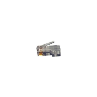 6-PLG-AWG2326 - CAT6 Solid Stranded RJ45 Male Plug Unshielded Conductor Terminate Cable