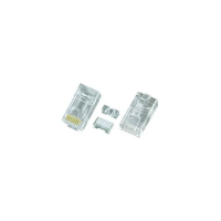 6A-PLG-STRANDED - CAT6a Stranded Shielded RJ45 Male Plug Terminate Conductor Connector