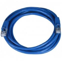 CAT7 Cable, 26AWG, Blue, 7 ft