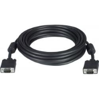 VEXT-PLNM-50-MM   -   Plenum VGA Cable CMP Gold Plated Monitor WUXGA 15HD Cord 50 ft 15HD Male - 15HD Male Gray