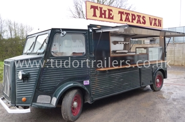 Professional Mobile Catering Vans