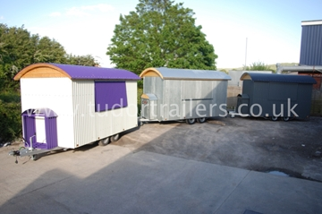 Branded Shepherd Hut Conversions For Trade Shows