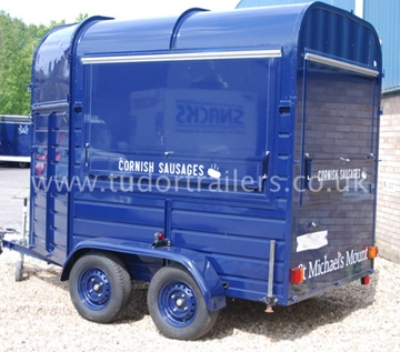 Branded Horse Box Conversions For Food Trade Industries