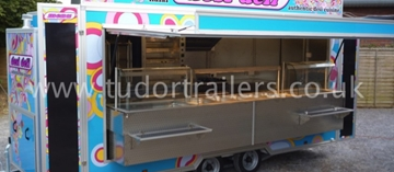 High Quality Indian Catering Trailers