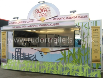 Custom Made World Food Catering Trailers