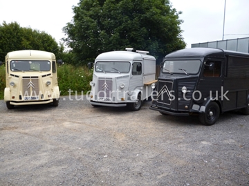 Personalised H Van Conversions For Visiting Centres