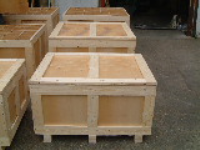 ISPM15 Compliant Wooden Packing Cases