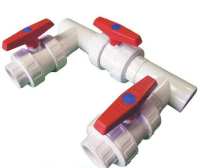 """1.5"""" Bypass Kit for Heat Pumps (White)"""