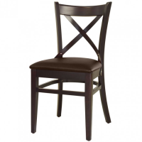Suppliers of Royale Brown Faux Leather Restaurant Chairs