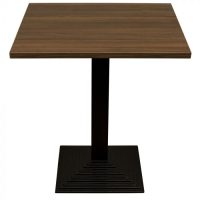 Walnut Complete Step Square Table